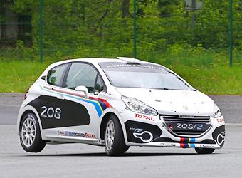 Компания Peugeot превратила хэтчбек 208 в ралли-кар