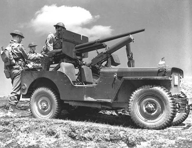 Автомобили на фронтах Второй мировой. Фото 5