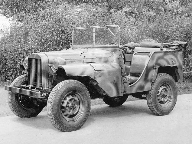 Автомобили на фронтах Второй мировой. Фото 6