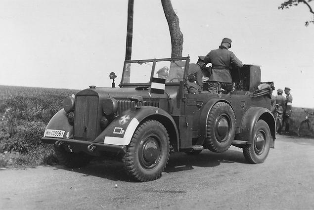 Автомобили на фронтах Второй мировой. Фото 14