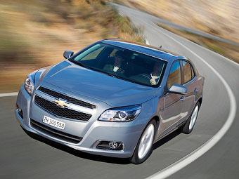 В Калининграде началась сборка нового седана Chevrolet