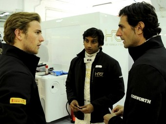 В тренировке Гран-при Испании за HRT выступят два местных гонщика