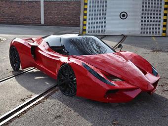 Австриец построил самый медленный Ferrari в мире