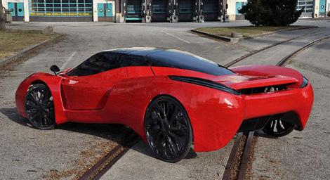 Реплику суперкара Ferrari перевели на велотягу. Фото 1