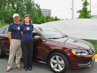 Семейная пара на VW Passat установила рекорд экономии топлива