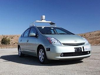 Автомобилям-роботам Google разрешили ездить по обычным дорогам
