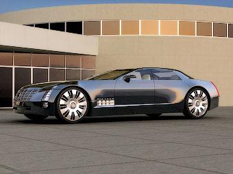 Cadillac разработает огромный заднеприводный седан