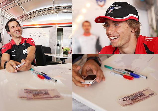 25 вопросов о России пилотам Marussia F1 Team. Фото 2