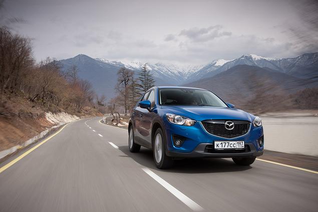 Проверяем новый кроссовер Mazda CX-5 на дорогах Грузии. Фото 3