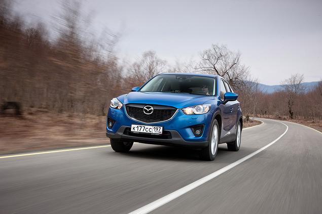 Проверяем новый кроссовер Mazda CX-5 на дорогах Грузии. Фото 5