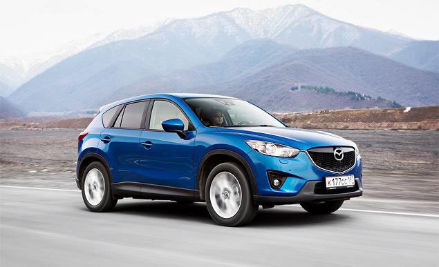 Проверяем новый кроссовер Mazda CX-5 на дорогах Грузии. Фото 6