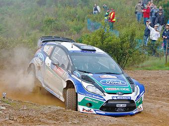 Яри-Матти Латвала вернулся за руль раллийного автомобиля