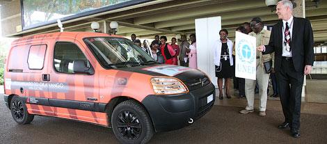 На Citroen Berlingo путешественник проедет по территориям шести африканских стран