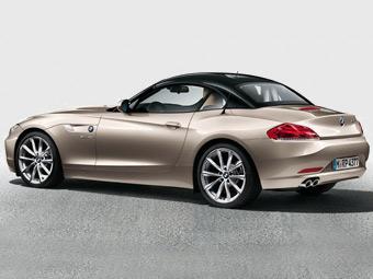 BMW перекрасила крышу родстеру Z4
