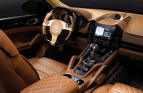 """600-сильный автомобиль на базе """"Кайенна"""" обойдется минимум в 261,5 тысячи евро. Фото 2"""