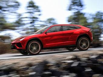 Внедорожник Lamborghini станет самым быстрым и легким в классе