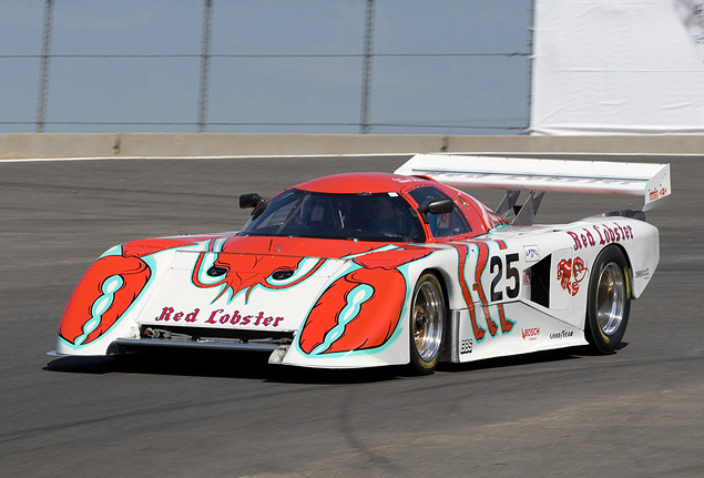 Какой была самая необычная раскраска гоночных машин. Фото 5