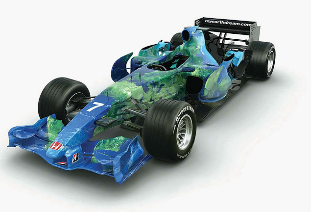 Какой была самая необычная раскраска гоночных машин. Фото 7