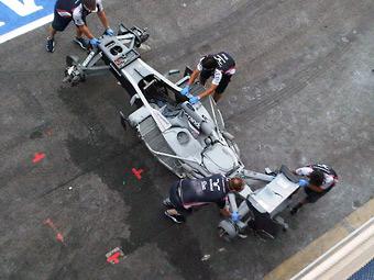 Сгоревший Williams Сенны выставят на старт Гран-при Монако