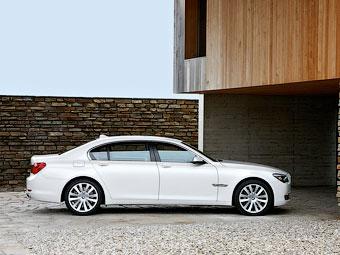 """Появились подробности об обновленной """"семерке"""" BMW"""