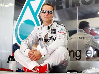 Немецкие болельщики посоветовали Шумахеру завершить карьеру