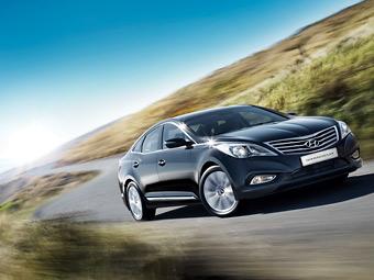 Hyundai привезла в Россию новый пятиметровый седан
