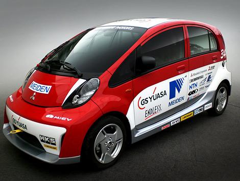 Японкая компания рассказала об электромобилях для соревнования