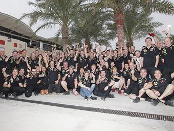 Команда Lotus во второй раз за два года отметит пятисотую гонку