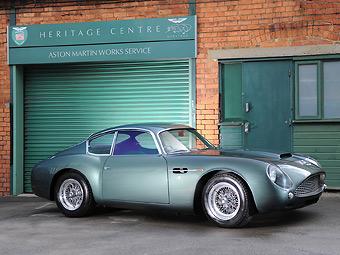 Раритетный совместный спорткар Aston Martin и Zagato ушел с молотка