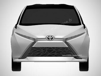 """""""Тойота"""" запатентовала дизайн трех автомобилей"""