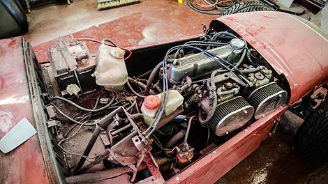 Машину построят за шесть недель из старых запчастей