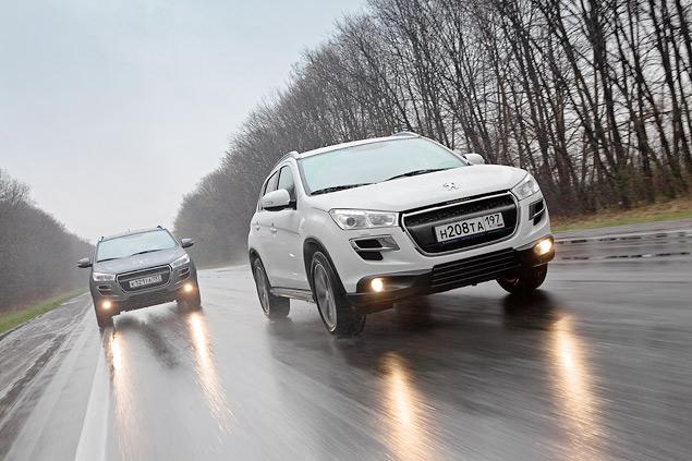 Ищем отличительные черты в Peugeot 4008. Фото 6