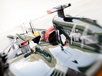 Тренировка Формулы-1 в Монако закончилась пожаром