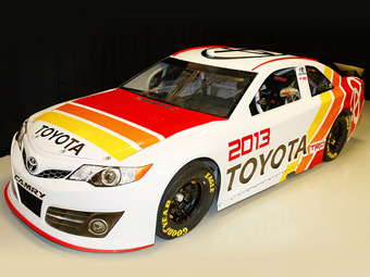 Toyota обновила автомобиль для высшего дивизиона NASCAR