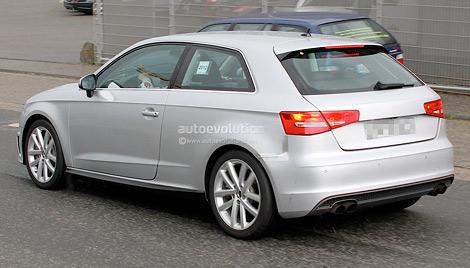Хэтчбек S3 проходит испытания на дорогах Германии