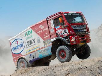 Победитель ралли-рейда «Шелковый путь» сменит грузовик