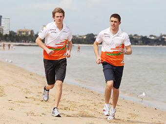Команда Force India сохранит пилотов на следующий год