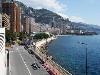Росберг установил лучшее время на тренировке в Монако