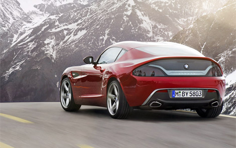 Экспериментальный автомобиль Zagato и BMW представили на Конкурсе элегантности Вилла д'Эсте