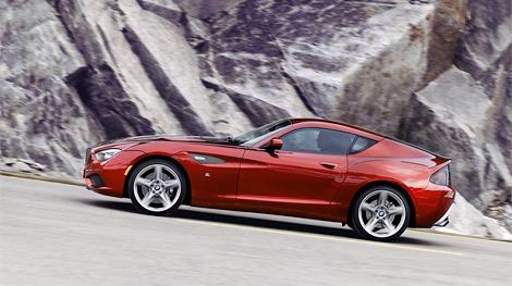 Экспериментальный автомобиль Zagato и BMW представили на Конкурсе элегантности Вилла д'Эсте. Фото 1
