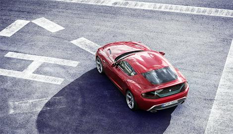 Экспериментальный автомобиль Zagato и BMW представили на Конкурсе элегантности Вилла д'Эсте. Фото 2