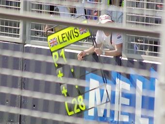 Механики уронили на Хэмилтона несколько табличек во время Гран-при Монако