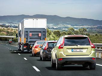 Три Volvo прошли 200 километров на автопилоте