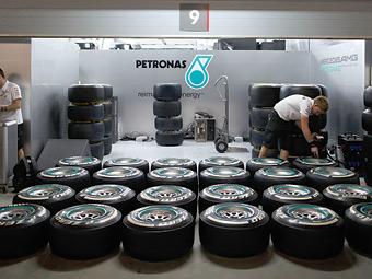 На Гран-при Великобритании пилоты Формулы-1 испытают более жесткие шины