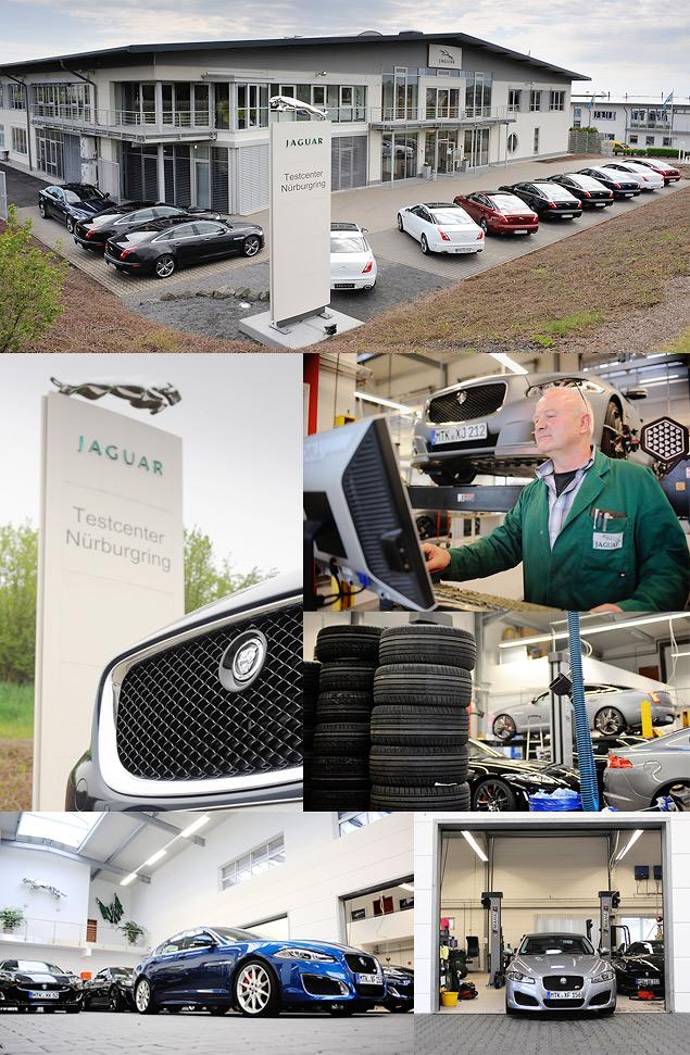 Выгуливаем Jaguar XJ Sport & Speed по Нюрбургрингу. Фото 3
