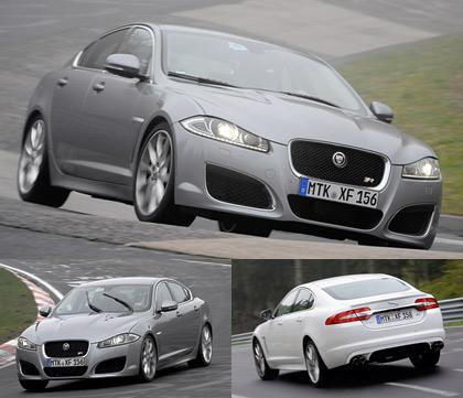 Выгуливаем Jaguar XJ Sport & Speed по Нюрбургрингу. Фото 7