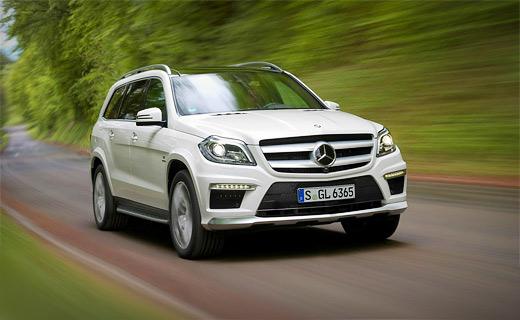 "Mercedes-Benz представил ""заряженный"" GL"