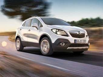 Российские дилеры начали принимать заказы на маленький кроссовер Opel