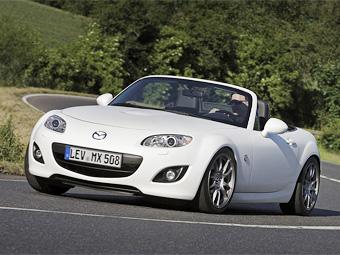 Mazda представила 240-сильную версию родстера MX-5