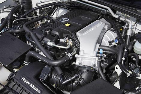 Построенный в единственном экземпляре компрессорный родстер Mazda MX-5 показали на автосалоне в Лейпциге. Фото 1